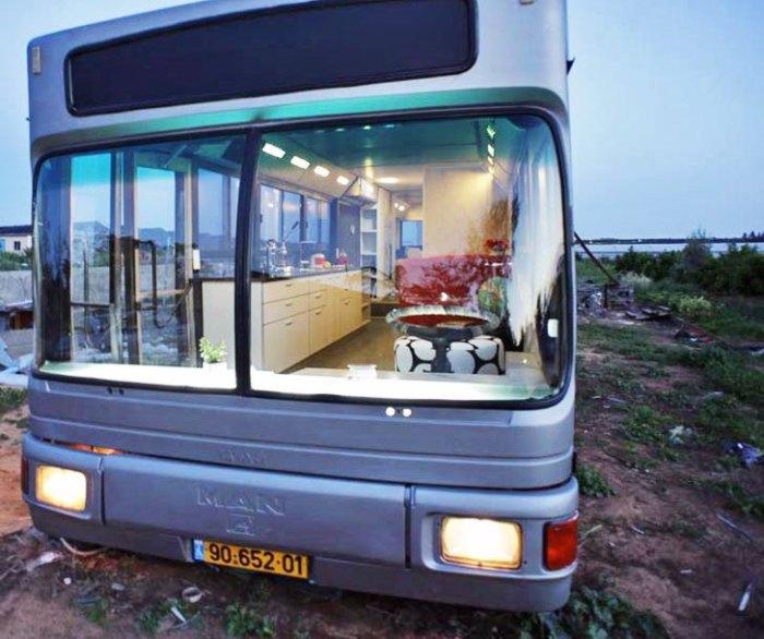 Внешний вид автобуса не стали менять. | Фото: inhabitat.com.