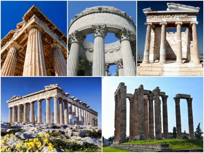 Величественные сооружения, обессмертившие древнегреческую архитектуру.