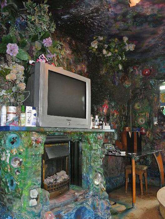Интерьер гостиной не менее впечатляющий (Киев, Троещина).