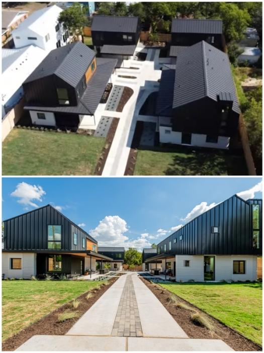 Жилой комплекс The East 17th St 3D-printed Home в Восточном Остине (Техас, США).
