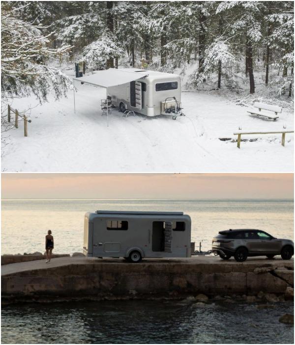 Теперь не нужно подстраиваться под хорошую погоду и во время путешествий искать места с развитой туристической инфраструктурой (Lume Nordic-LT540).