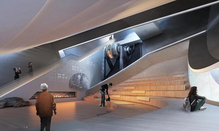 Комплекс будет выполнять культурную и образовательную функции (концепт Anchor of the Plates). | Фото: mymodernmet.com.