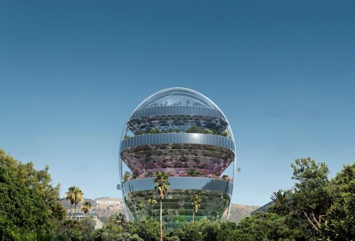 На данный момент нет никакой информации получено ли разрешение на строительство инновационного небоскреба Star (концепт MAD Architects). | Фото: archdaily.com.
