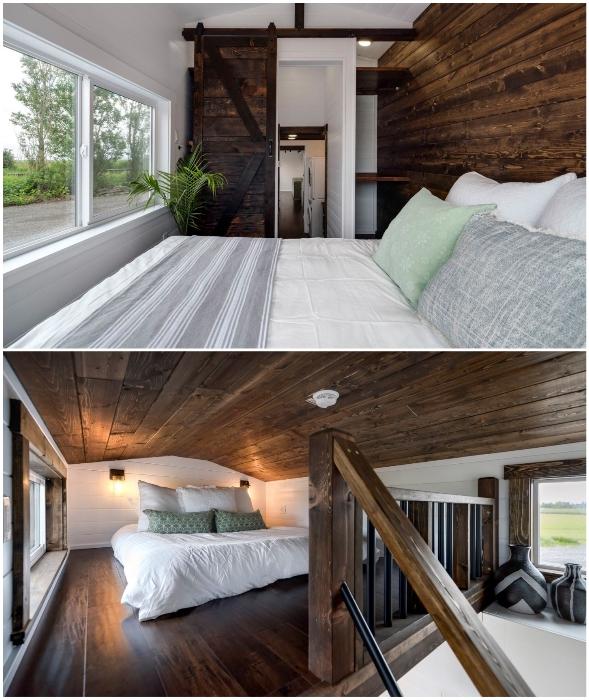 В доме на колесах Canada Goose имеется три спальни.
