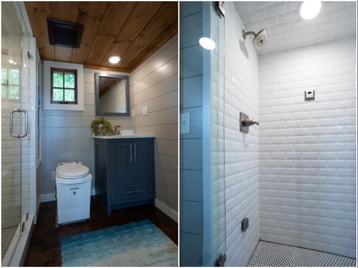 Благоустроенная ванная комната порадует большим пространством и современными удобствами (Denali XL, США).
