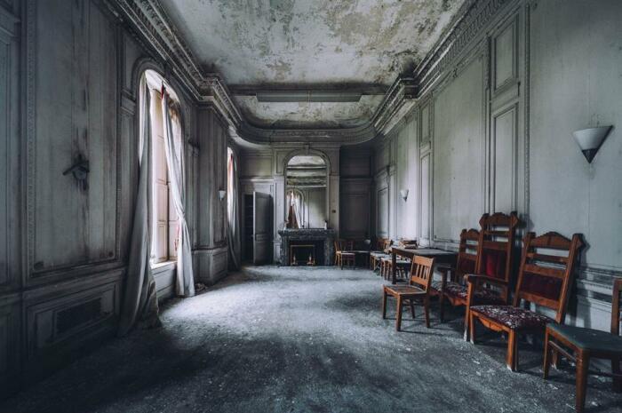 Драма, произошедшая в семье миллионеров, привела великолепный дом в упадок (Lynnewood Hall, Филадельфия). | Фото: loveproperty.com.