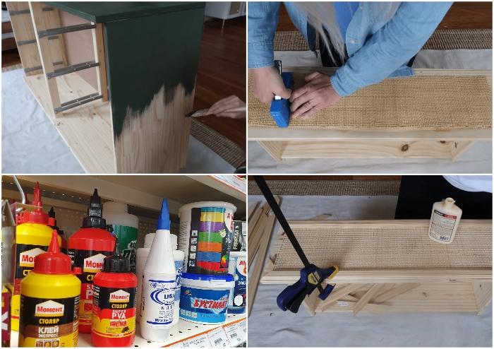 Для превращения простенького на вид комода из IKEA понадобится минимальный набор инструментов и материалов.