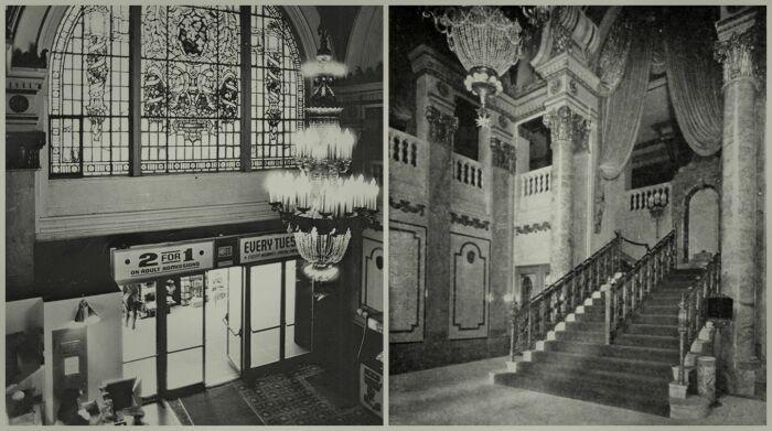 Роскошное внутреннее убранство кинотеатра Tower Theater в Лос-Анджелесе.   Фото: apple.com.