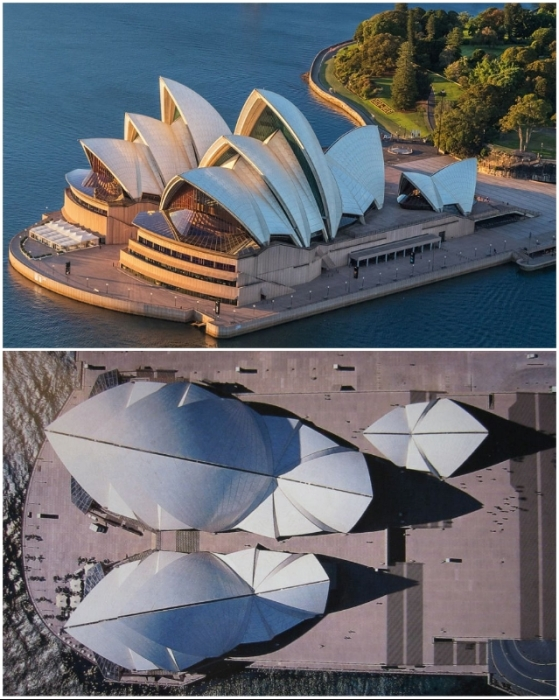 Красивейший Оперный театр стал ведущим мировым центром исполнительского искусства (Сидней, Австралия).