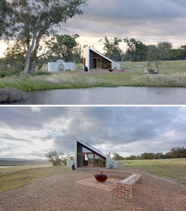 Gawthornes Hut – идеальное место отдыха в сельской местности (Австралия).
