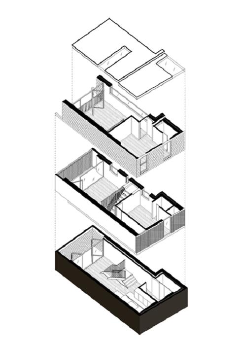 Проект дома с причудливым названием Gouse Марты Новицки. | Фото: architectsjournal.co.uk.