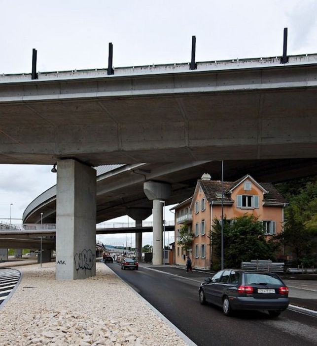 Дом одного из самых упрямых людей Швейцарии (Allmendstrasse). | Фото: ba-bamail.com.
