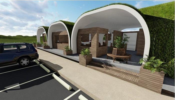 Такие конструкции с успехом используют для создания придорожных кафе и магазинов.