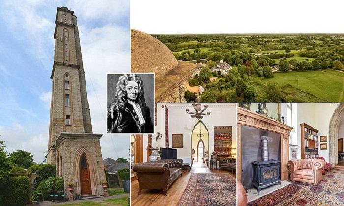 Потрясающий дом-башня был построен эксцентричным юристом Эндрю Томасом Тертоном Петерсоном. | Фото: dailymail.co.uk.