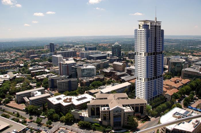 На 55 этаже открыта смотровая площадка с потрясающим панорамным видом («Leonardo», ЮАР). | Фото: stroi.mos.ru.