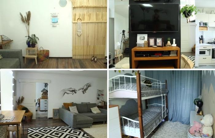 Даже малогабаритную «хрущевку» можно превратить в современное и стильное жилье. | Фото: youtube.com / Oksana Matyash.