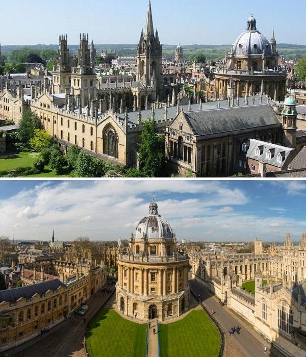 Оксфордский университет – самая престижная и известная кузница знаний Европы (University of Oxford). | Фото: ru.depositphotos.com.