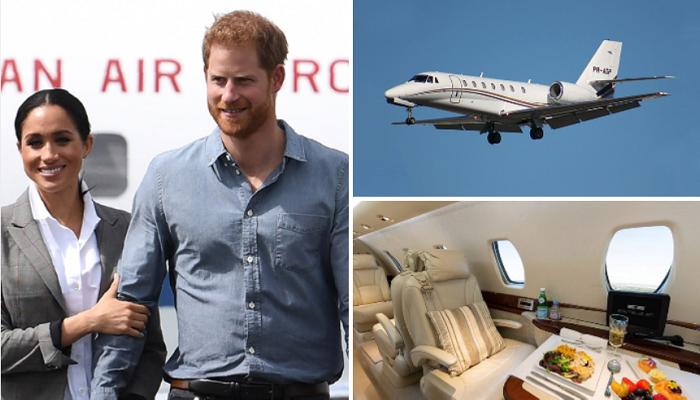 Подданные Великобритании не простили очередной полет на бизнес-лайнере монаршей чете принцу Гарри и Меган Маркл.