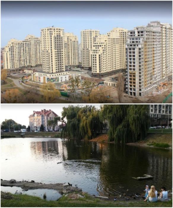 Вот такие реалии вместо красивых обещаний застройщика (Киев). | Фото: medium.com.