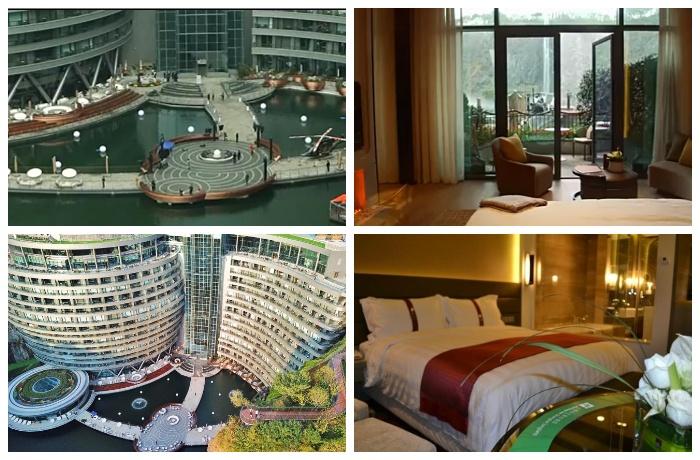 В подземном отельном комплексе Songjiang InterContinental есть где отдохнуть.