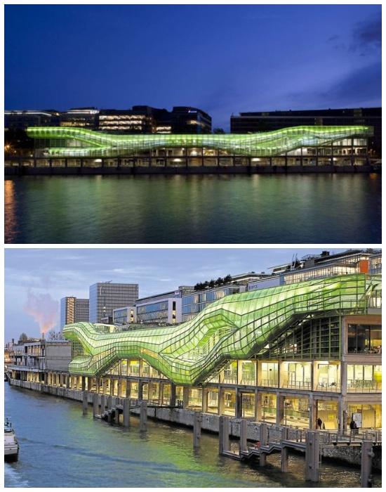 Обновленный выставочный комплекс Docks en Seine в Париже. | Фото: wonderfultime.com.