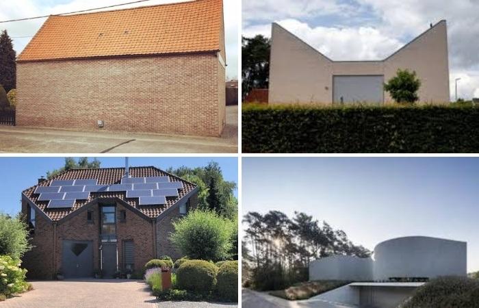 Мой дом – моя крепость! («Ugly Belgian Houses»). | Фото: instagram.com/ uglybelgianhouses.