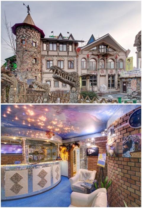 Отель «Замок снов» в Домодедово способен унести на седьмое небо. | Фото: tur-hotel.ru.