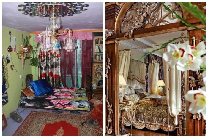 Разница между стилем китча люмпенов и псевдоаристократическим. | Фото: trinixy.ru.