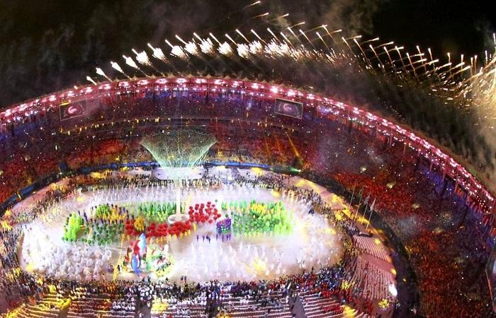 Великолепное шоу было организовано в день открытия летней Олимпиады 2016 года в Рио-де-Жанейро.