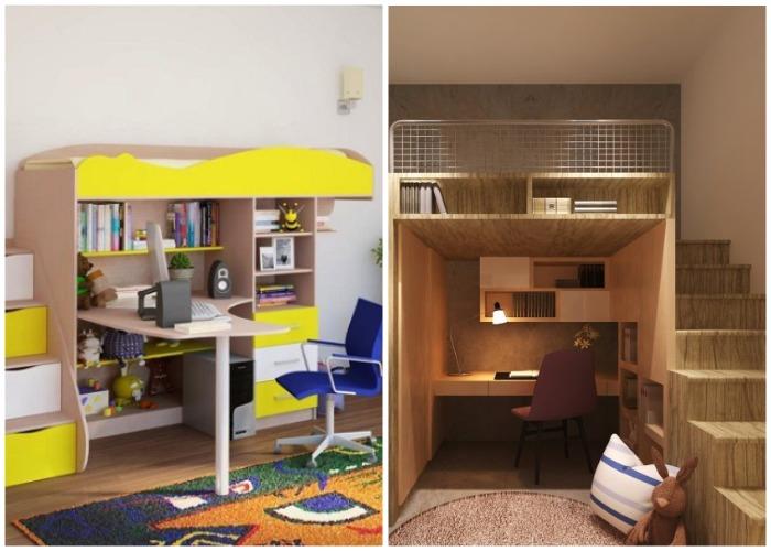 Организация детского уголка в однокомнатной квартире.