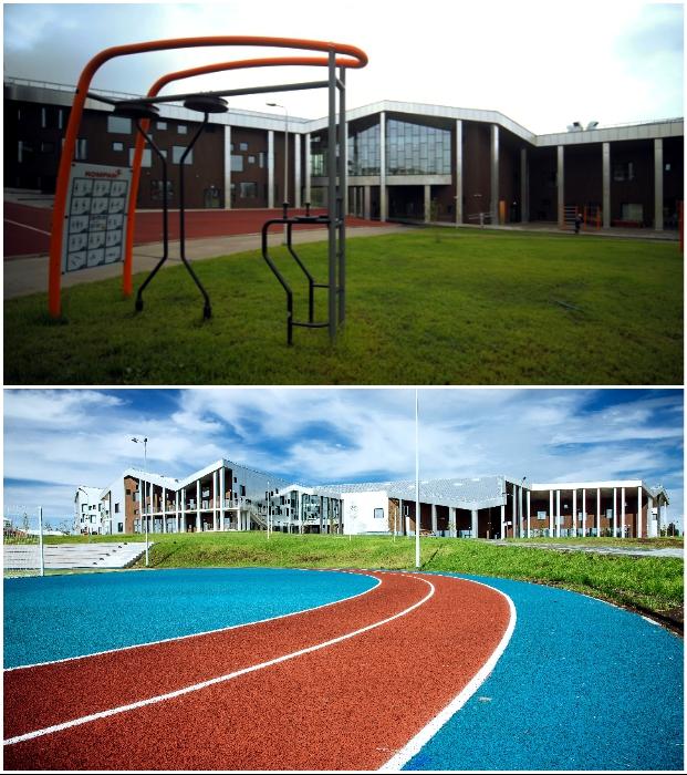 Школьникам также есть чем заняться в хорошую погоду («Точка будущего», Иркутск).