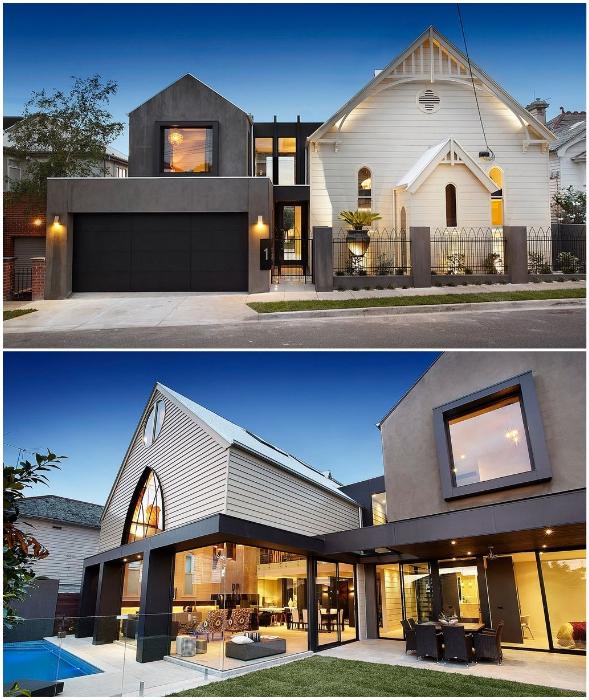 Бывшая англиканская церковь XIX в. в Мельбурне (Австралия).
