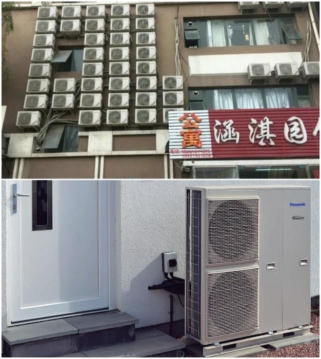 Японцы свое жилище обогревают с помощью кондиционеров или тепловых насосов.