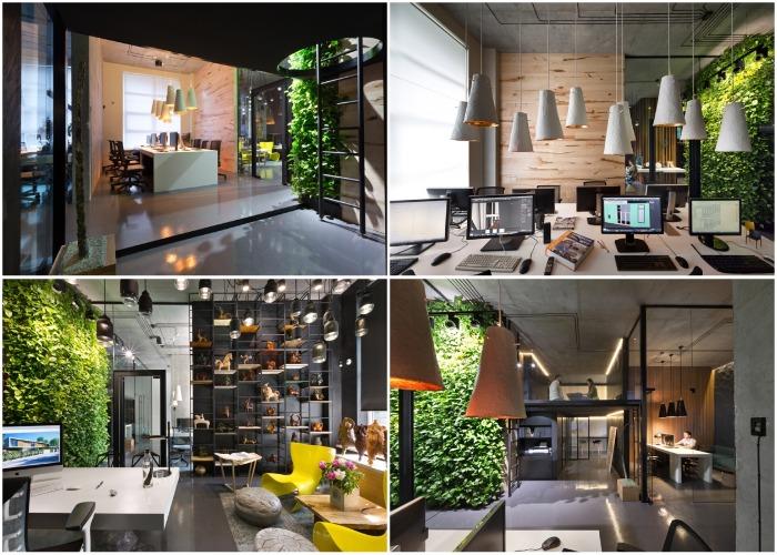 Офис тоже получил первую премию на Международном конкурсе The Architecture Master Prize.