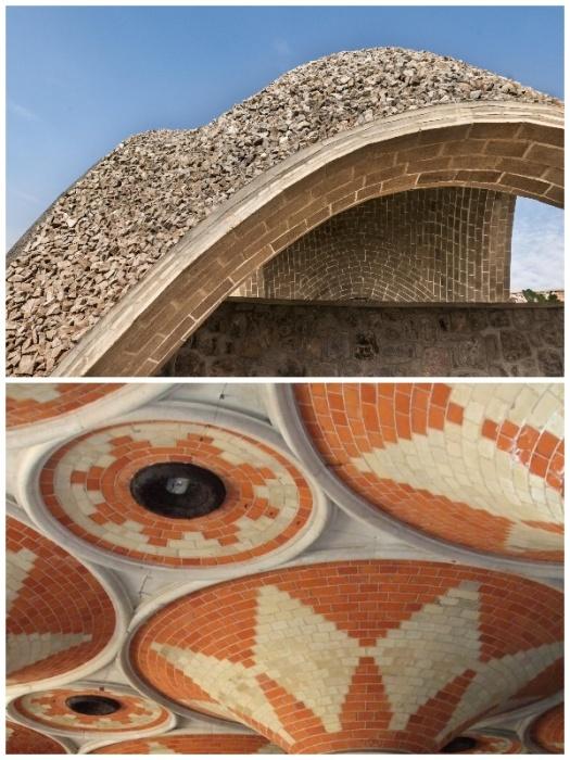 Благодаря современным строительным материалам сводчатые потолки могут иметь невероятные архитектурные формы. | Фото: kamtehnopark.ru.