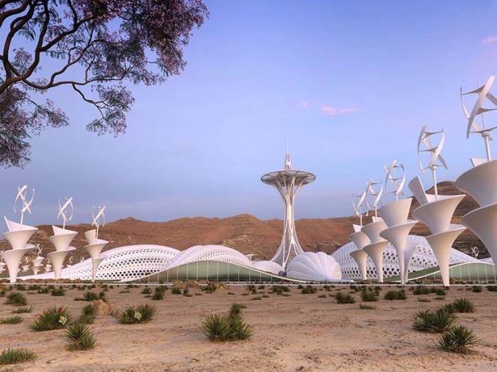 Концептуальный проект «Парк опылителей» от Винсента Каллебо. | Фото: newatlas.com.