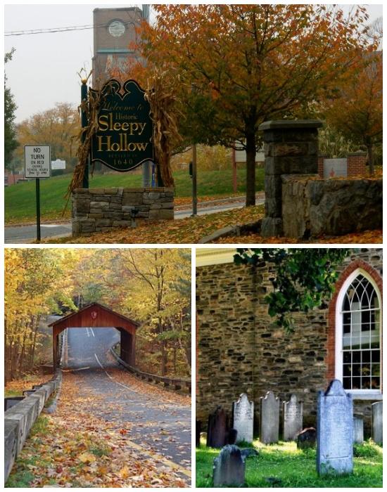 В угоду туристам, американскую деревню Северный Тарритаун переименовали в Сонную Лощину (США).