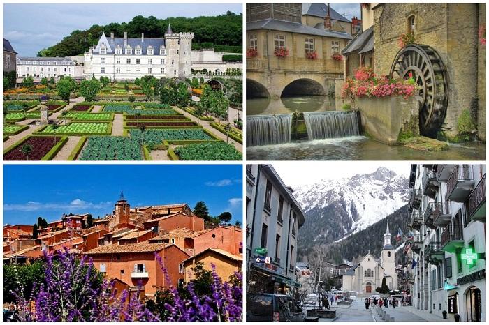 Удивительные маленькие города Франции.