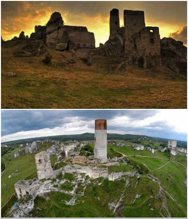 Замок Ольштын на протяжении нескольких веков был надежным оплотом земли польской.| Фото: rech-pospolita.ru/ dimon-porter.livejournal.com.
