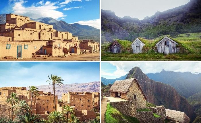 Из-за нехватки навыков и материалов жилье древних людей особой красотой и изяществом не отличалось. | Фото: boredpanda.com.