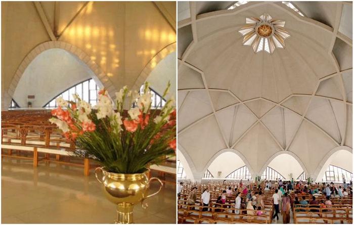 Масштабное и красивейшее в мире религиозное здание было построено из белоснежного пентелийского мрамора.| Фото: pinterest.com/ atozallnews.blogspot.com.