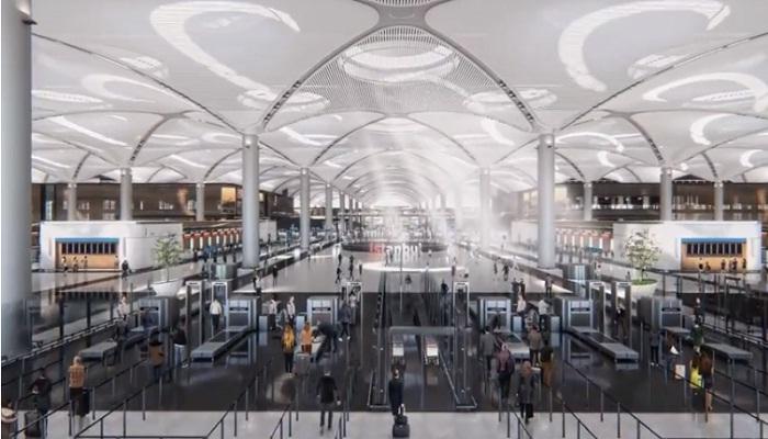 Самый технологичный аэропорт в мире («Стамбул», Турция).