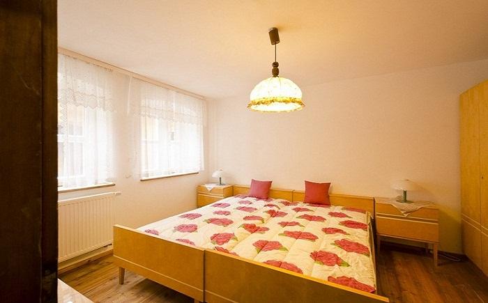 Очень уютная спальня.