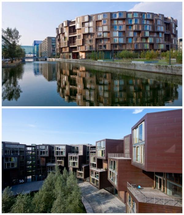 Автором проекта футуристического общежития является студия Lundgaard & Tranberg при содействии фонда Nordea (Tietgenkollegiet, Копенгаген). | Фото: 4.bp.blogspot.com.