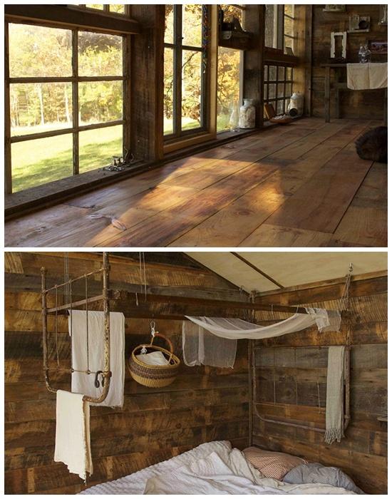 Для строительства и создания интерьера использовали только вторсырье и выброшенные предметы (The Sunset House, США). | Фото: googleusercontent.com.