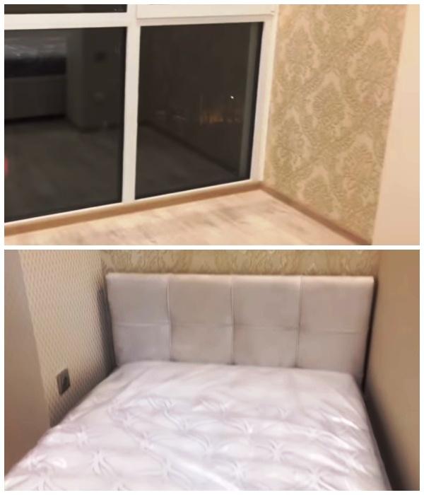 Оставшуюся часть комнаты объединили с балконом, и получилась полноценная детская комната.