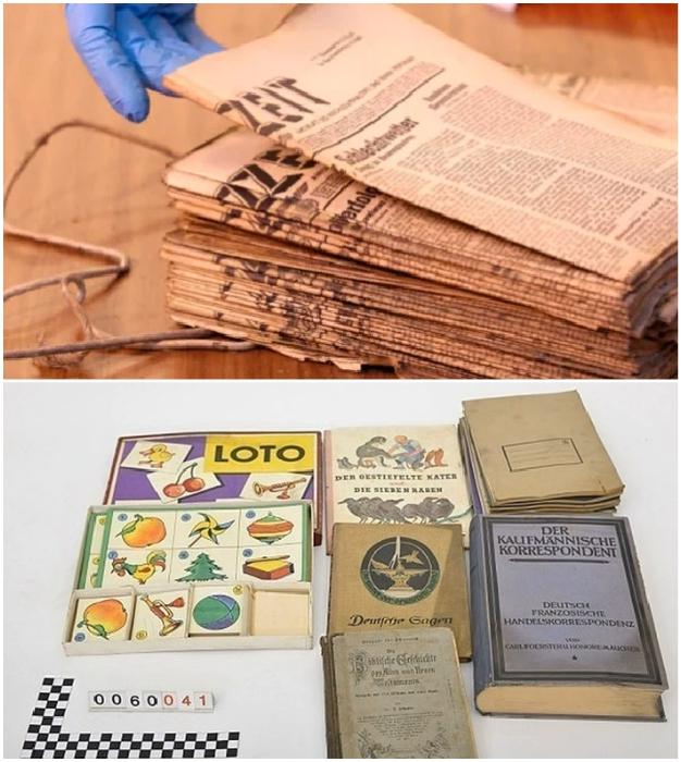 Сохранившиеся книги и газеты имеют особенную историческую ценность.