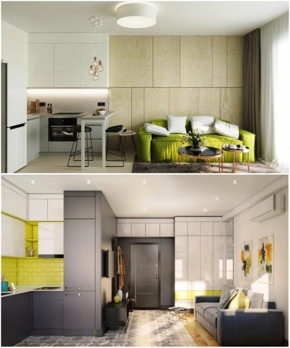 Квартира-студия – идеально подойдет студенту или одинокому человеку. | Фото: newbor.by.