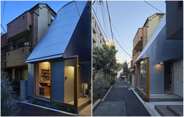 Жилой дом общей площадью всего лишь 18,8 кв.м. оказался на удивление комфортным («Love2House», Токио). | Фото: archidea.com.ua/ © Koji Fujii Nacasa & Partners Inc.