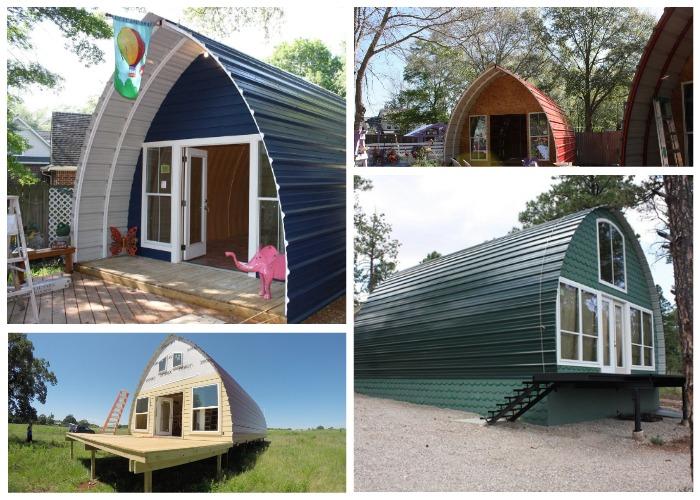 На каждый дом фирма-производитель Arched Cabins дает гарантию 40 лет!